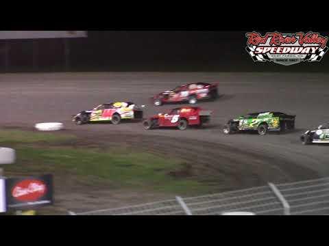 Red River Valley Speedway IMCA Sport Mod A-Main (9/30/17)