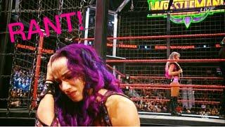 Wwe Elimination Chamber 2018 RANT - Vince chooses Alexa over Sasha again!!!
