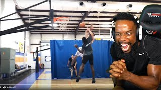 DUNKER GETS ATTACKED WHILE DUNKING! Haters INTENTIONAL FOUL Me & GET IN MY FACE! THEN GET EXPOSED!