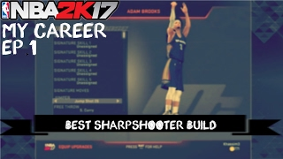BEST NBA 2K17 SHARPSHOOTER BUILD PS3/XBOX 360