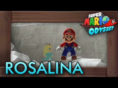Rosalina Could Have Appeared In Super Mario Odyssey Resetera