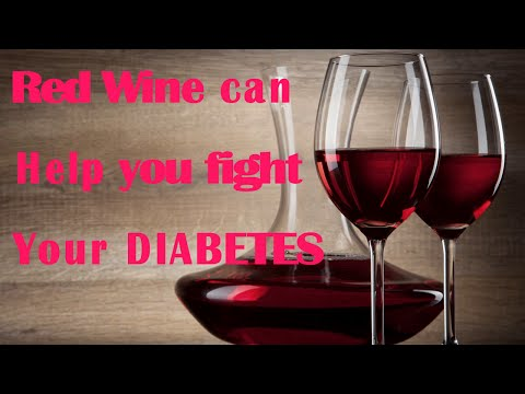 Red Wine Can Help You Fight Your DIABETES