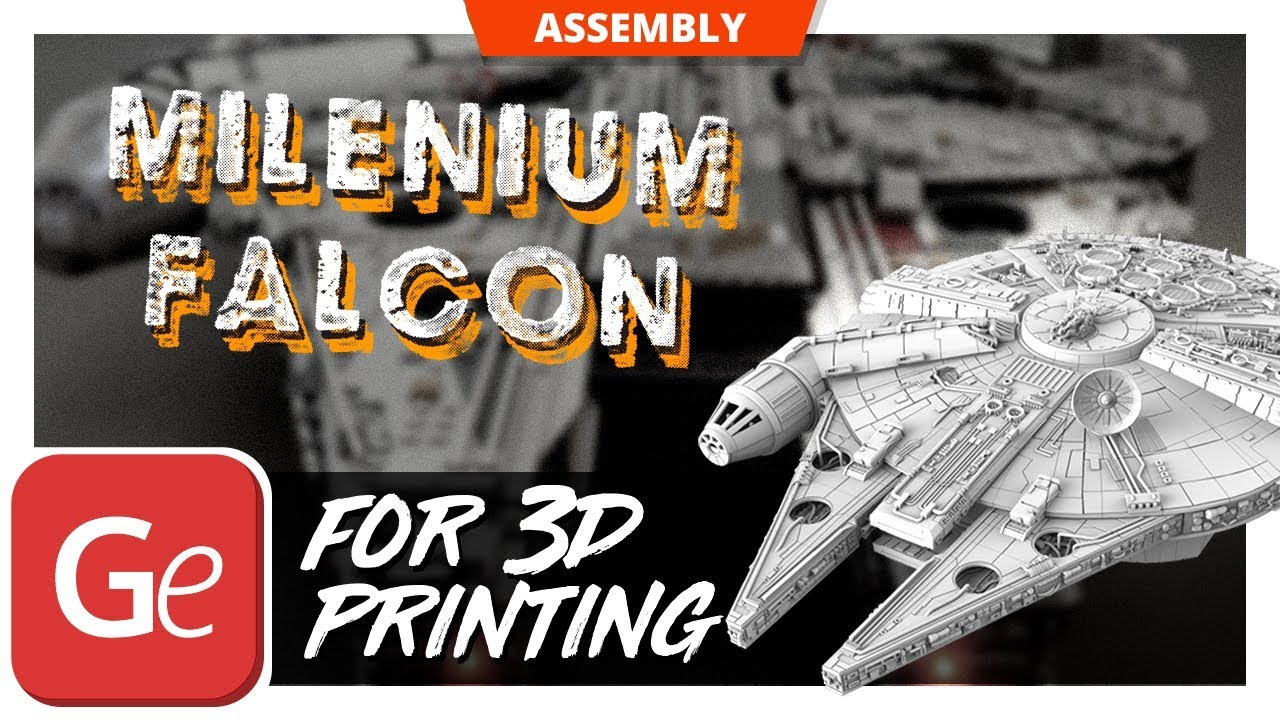 Millenium Falcon Recreated as 1:34 Scale, Ludicrously