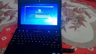 How to Install Windows 7 On Dell Notebook / Mini Laptop With USB -  TricK i Know