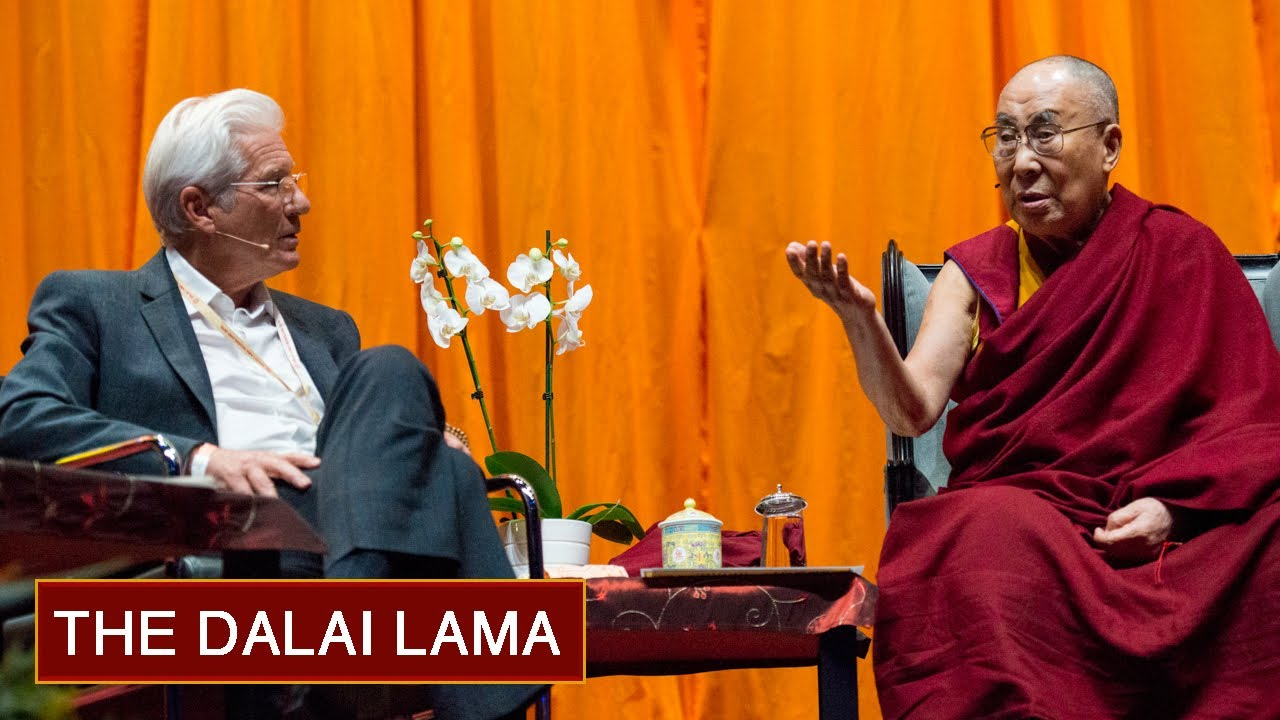 His Holiness The Dalai Lama In Conversation With Richard Gere Youtube