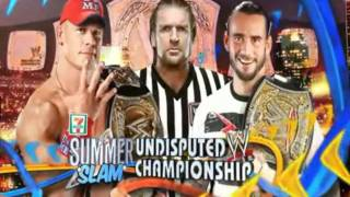 WWE SummerSlam 2011 PPV Theme Song+Full match card+My predictions