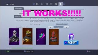 *HOW TO ACTUALLY* USE THE GIFTING SYSTEM (Fortnite Battle Royale *NOT CLICKBATE!!! *