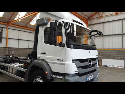 New In Stocklist For Sale: MERCEDES BENZ AXOR 1824 4X2, 18T CHASSIS CAB/DEMOUNT – 2013 – DE13 VLR