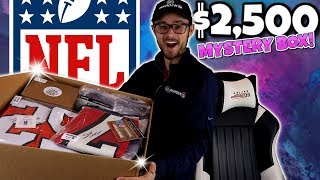 OPENING A CUSTOM $2,500 MYSTERY NFL BOX!! (Getting an All Time Grail!)