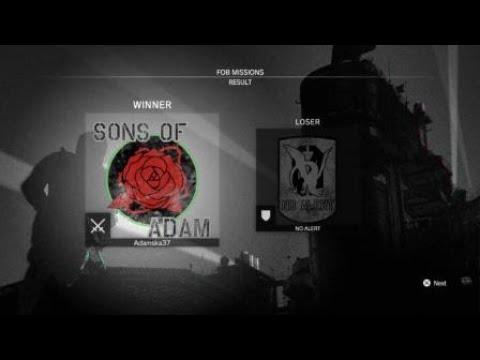 [HARD] Skulls Attack FOB Event, 8 in-a-row CQC