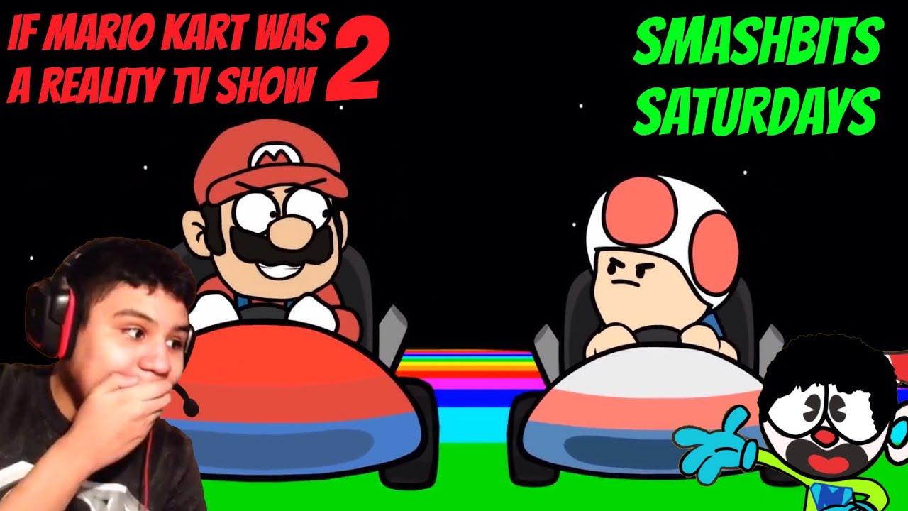 Mario Vs Toad: If Mario Kart Was a Reality Show 2 [Reaction] (SmashBits  Saturdays #5)