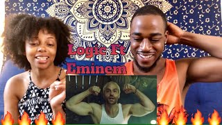 LOGIC HOMICIDE FT EMINEM & CHRIS D'ELIA OFFICIAL MUSIC VIDEO REACTION