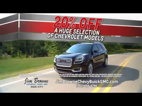 Jim Browne Chevrolet Buick GMC Black Friday Event 2016
