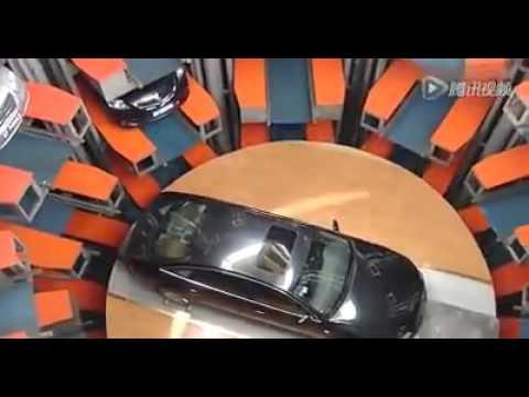 احد مواقف السيارات في اليابان