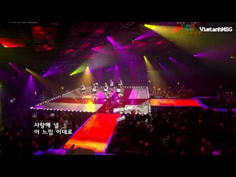 071228 - SNSD - Into The New World (Real HD 720p) @ Music Bank