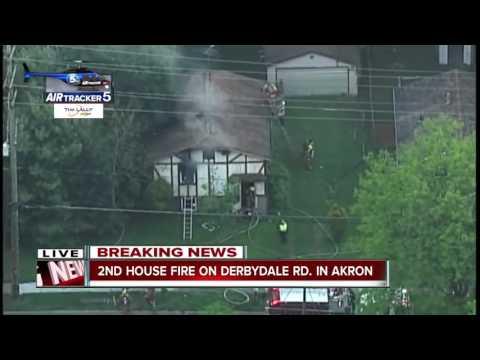 Fatal house fire in Akron