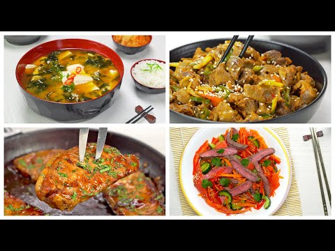4 БЛЮДА КОРЕЙСКОЙ КУХНИ, которые обязательно стоит приготовить. Рецепты от Всегда Вкусно!