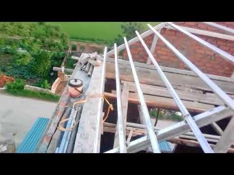 Hướng dẫn hàn kèo sắt lợp ngói.P2 Guide to welding iron roof, roof tile P2
