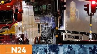 N24 Nachrichten - Terror in Stockholm: LKW-Attentäter immer noch auf der Flucht