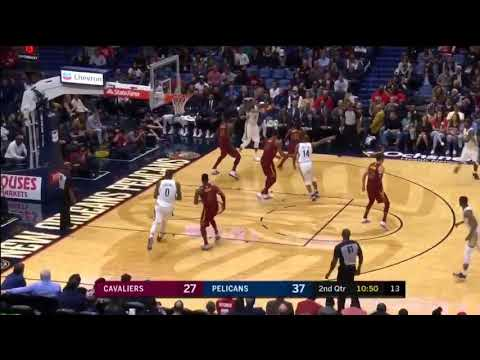 Pelicans Amazing Ball Movement - New Orleans Pelicans vs. Cleveland Cavaliers - 28/10/2017