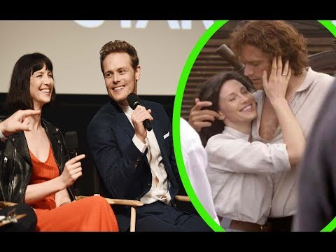 Outlander's Caitriona Balfe and Sam Heughan on Keeping It Steamy Through Relationship in Season 4.
