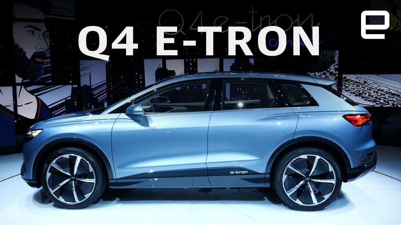 Audi E-Tron Q4 First Look at Geneva Motor Show 2019 - YouTube