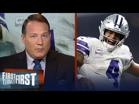 Eric Mangini reacts to Dallas Cowboys 40-7 rout over Jacksonville Jaguars | NFL | FIRST THINGS FIRST