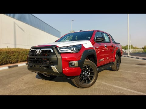 Hilux 2021 is the New Hilux by Toyota & it's Adventure-Ready | Visual Review + POV Drive