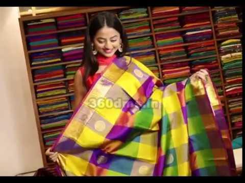 Tv Actress Helly Shah At Store Launch Of Sundari Silks