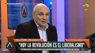 """José Luis Espert en """"Animales Sueltos"""" de Fantino, por América el 7 de junio de 2019"""