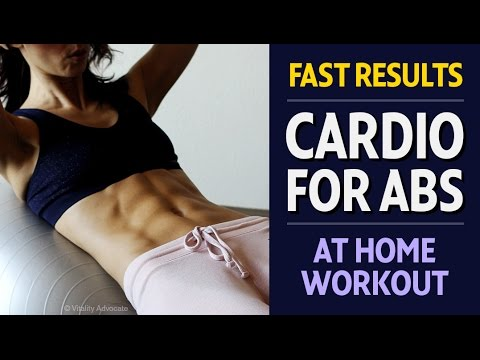 Amazing Cardio Abs workout for women