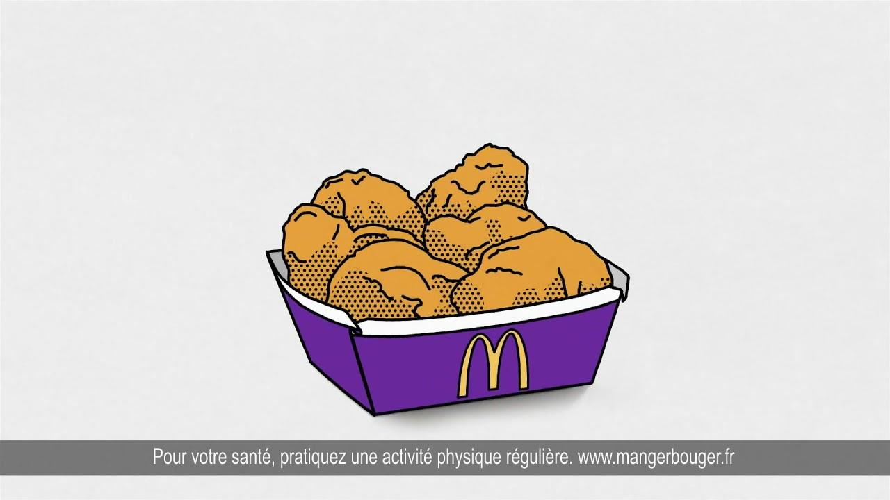 Musique de la pub   McDonald's Parlons Peu… Parlons Poulet 2021