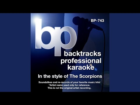 When The Smoke Is Going Down (Karaoke track Without Background Vocal) (In the style of The...