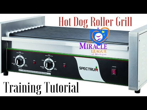 Hot Dog Roller Grill Tutorial