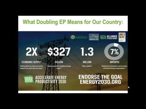 Energy 2030 Webinar: Accelerating Energy Productivity through Smart Grid and Smart Manufacturing
