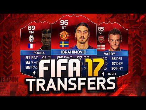INSANE FIFA 17 TRANFERS!!???