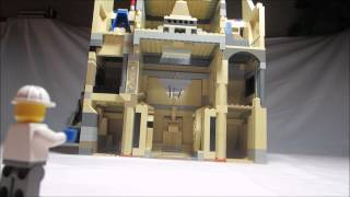 Lego MOC: Temple of the Lost Pharaoh