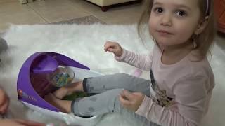 Орбиз цветные шарики Спа Процедуры с накладными ногтями Orbeez soothing spa unboxing toy