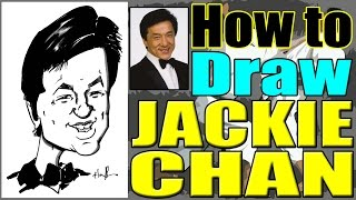 How To Draw A Quick Caricature Jackie Chan