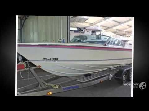 Colombo super indio 21 power boat, sport boat year - 1986