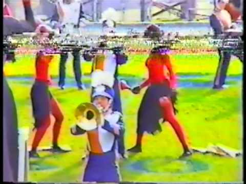 OPHS Marching Band COLOR GUARD 1996