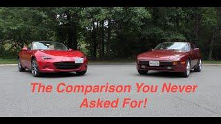 Porsche 944 vs Mazda Miata, Modern Tech vs Old School Performance