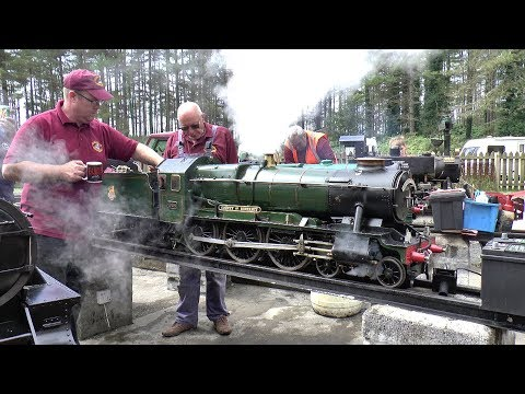 Summer Steam Up ~ Llanelli & District Model Engineers, 19/08/2017