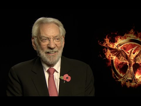 Hunger Games Mockingjay Part One - Donald Sutherland Interview