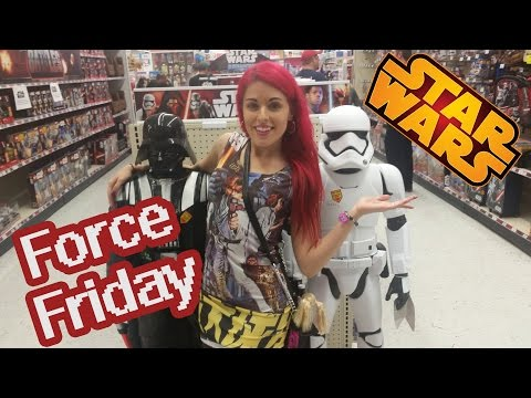 Star Wars Force Friday Midnight Toy Hunt at Toys R Us