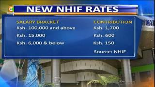 NHIF New Rates