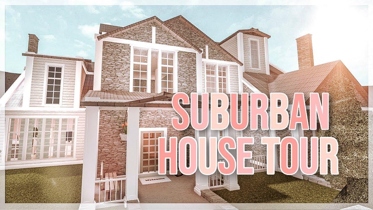 Roblox Bloxburg Suburban House