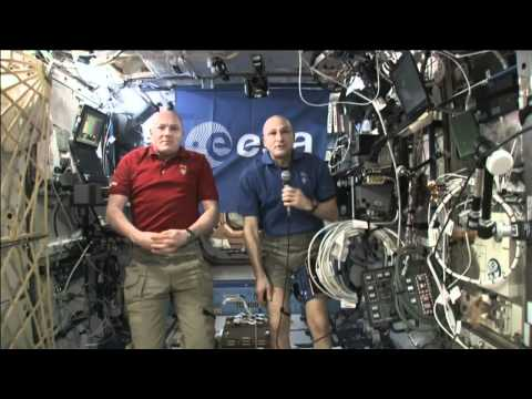 YouTube Spacelab regional finalists speak with ESA astronaut André Kuipers and Don Pettit