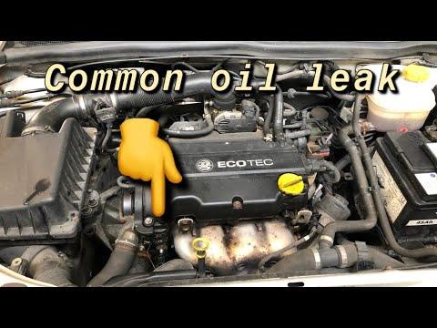 Vauxhall Astra 1.4 Engine Oil Leak COMMON PROBLEM