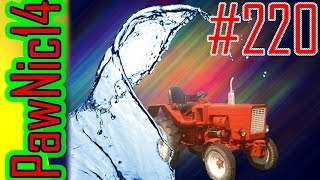 220# Życie zwyczajnego rolnika - Mycie Władimirca po bronowaniu